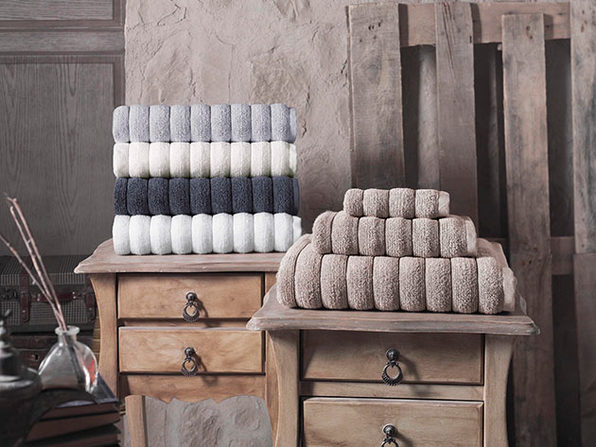 6-Piece Vague Turkish Towel Set