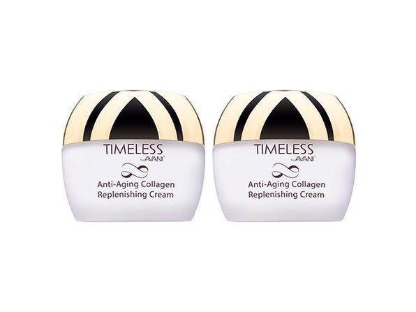 Timeless by AVANI® Anti-Aging Collagen Replenishing Cream: 2-Pack