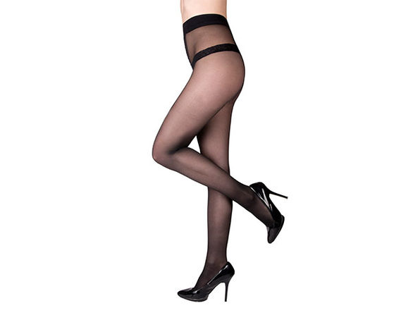 Shape-and-Slim Compression Tights in Medium (Size: 8-10)