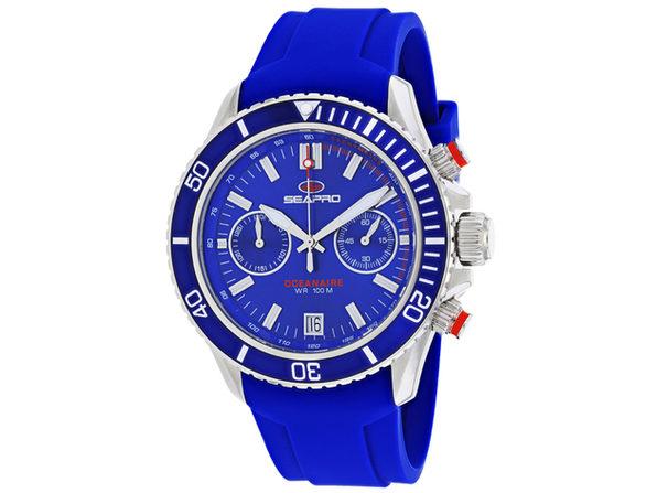 Seapro Men's Thrash Blue Dial Watch - SP0332
