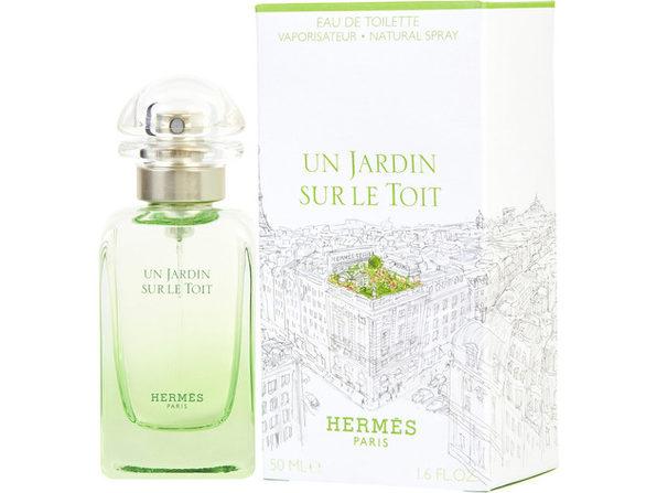 UN JARDIN SUR LE TOIT by Hermes EDT SPRAY 1.7 OZ for WOMEN  100% Authentic - Product Image