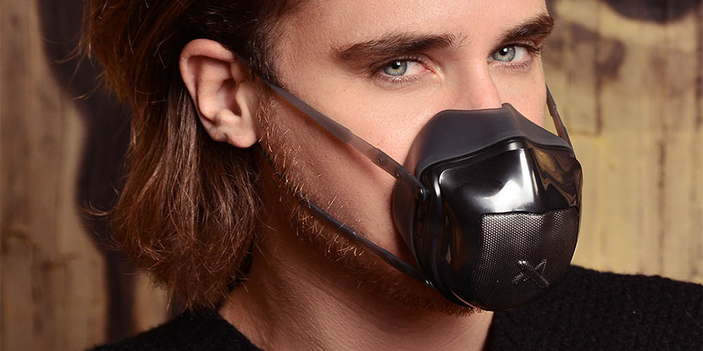 Ultramasx UltraOneFan Mask with 4-Stage HEPA & Activated Carbon Filter