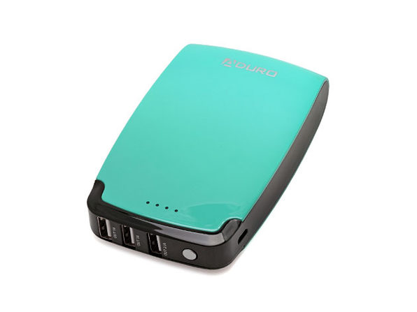 PowerUP 11,000mAh Triple USB Battery (Turquoise)