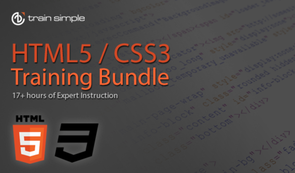 HTML5 & CSS3 Video Course Bundle - Product Image