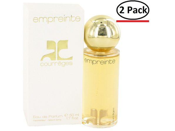 EMPREINTE by Courreges Eau De Parfum Spray 1.7 oz for Women (Package of 2)