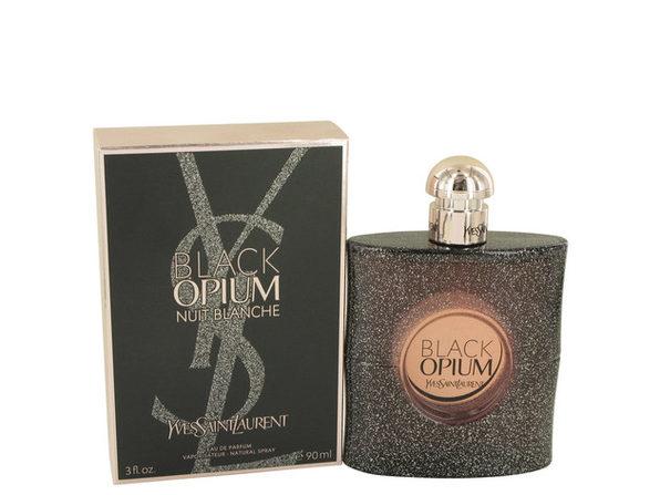 Black Opium Nuit Blanche by Yves Saint Laurent Eau De Parfum Spray 3 oz for Women