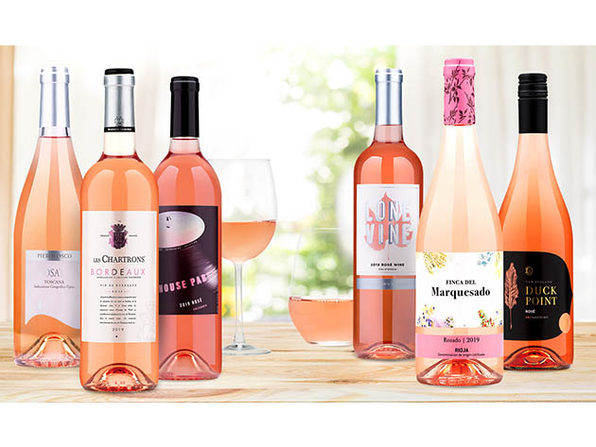 6 bottles of Rosé Wines from Wine Insiders for only $54! - Product Image