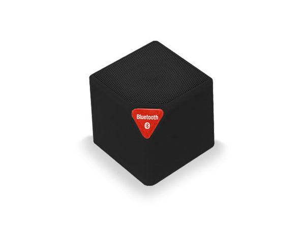 Bluetooth Portable Mini Qube Speaker (Black) - Product Image