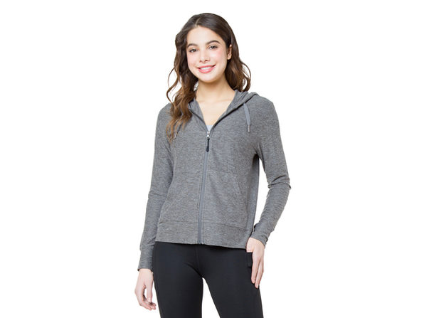 Kyodan Womens Day-To-Day Zip-Up Hoodie - Large