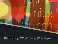 Photoshop CC Working with Type Course - Product Image