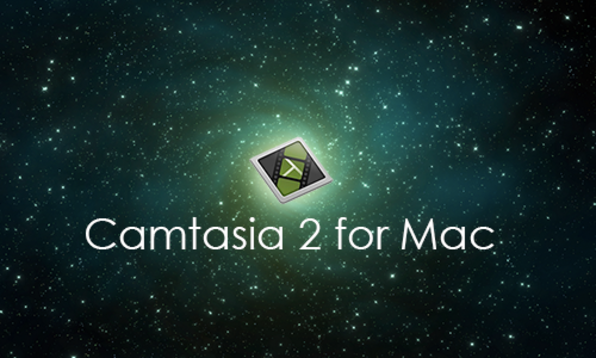 Camtasia 2 for Mac - Product Image
