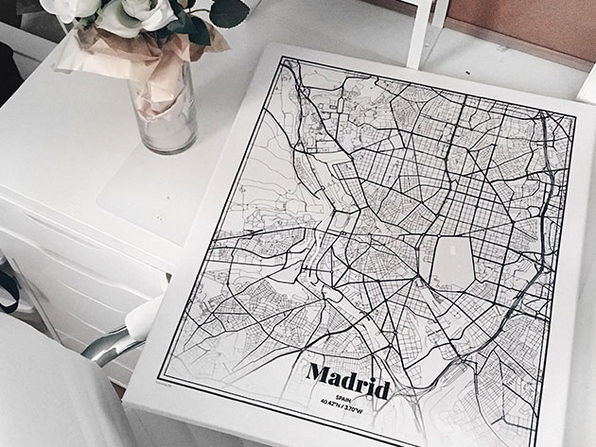 Grafomap Custom Map Poster: 30% Off Coupon