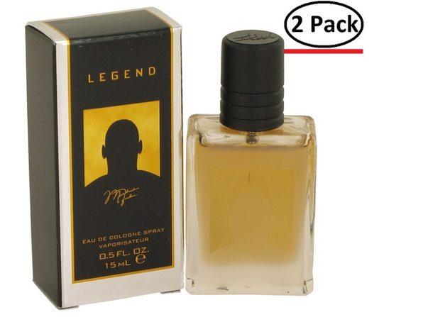 Michael Jordan Legend by Michael Jordan Mini Cologne Spray .5 oz for Men (Package of 2) - Product Image