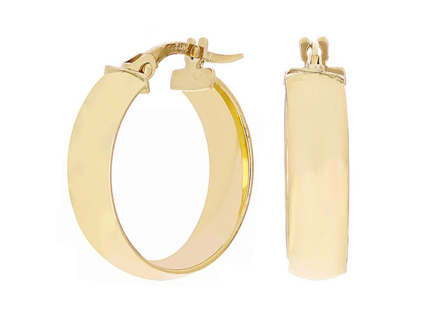Christian Van Sant Italian 14k Yellow Gold Earrings - CVE9LRT - Product Image