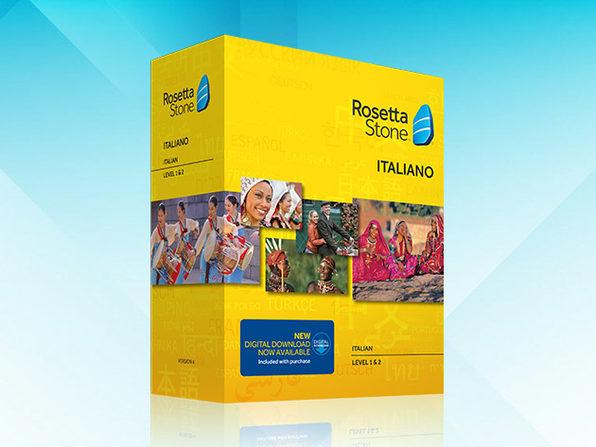 Rosetta Stone Language Box Sets (Italian, Levels 1-2) - Product Image