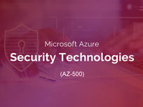 Microsoft Azure Security Technologies (AZ-500) - Product Image