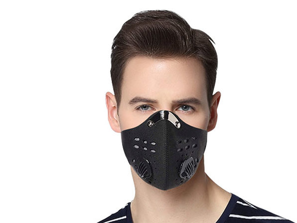 Dust Proof Mask with 3 Filters (8-Pack)