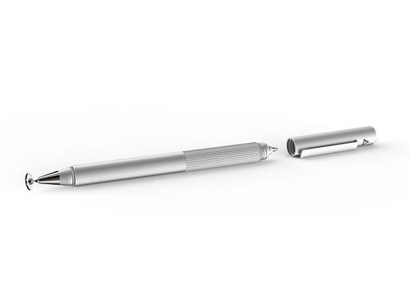 Adonit Switch 2-in-1 Stylus & Pen (Silver)