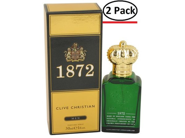 Clive Christian 1872 by Clive Christian Perfume Spray 1 oz for Men (Package of 2) - Product Image