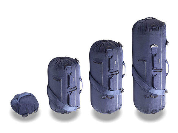 The A10 Adjustable Travel Bag (Navy Blue)