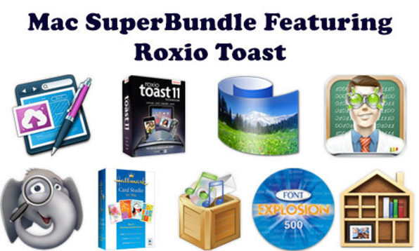 SuperBundle featuring Roxio Toast - Product Image