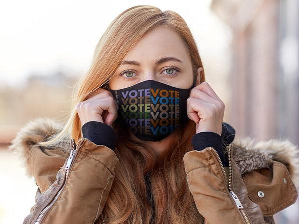 VOTE Masks (Black/3-Pack)