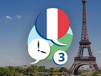 3 Minute French - Course 3: Language Lessons for Beginners - Product Image