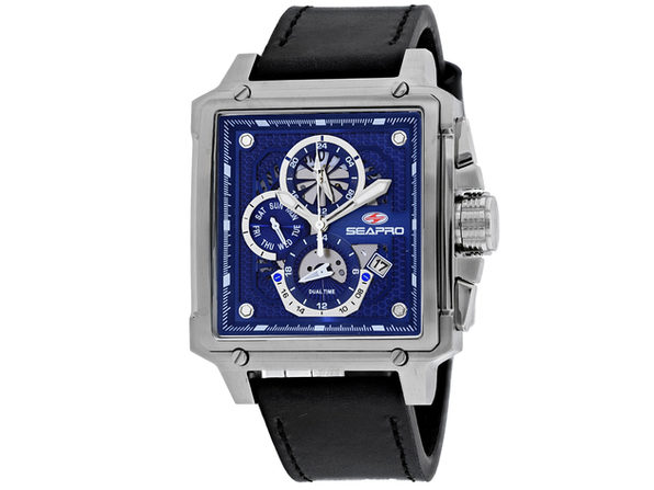 Seapro Men's Blue Dial Watch - SP0112