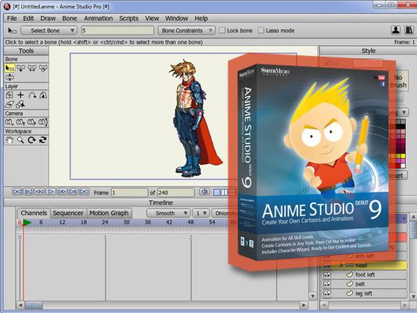 Anime Studio Debut 9 - Product Image