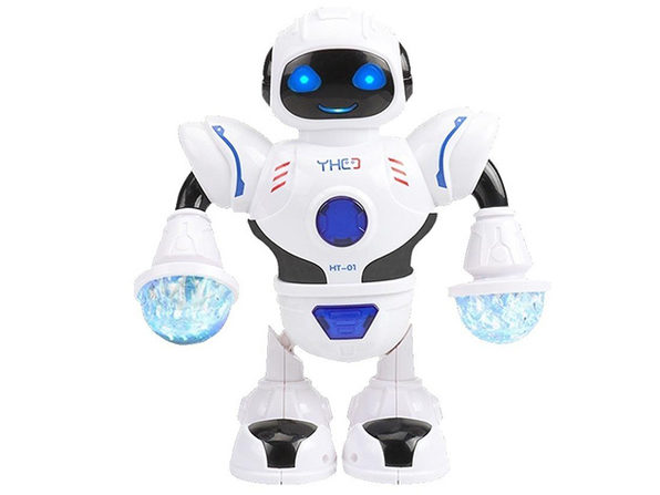 Electronic Walking & Dancing Smart Space Robot