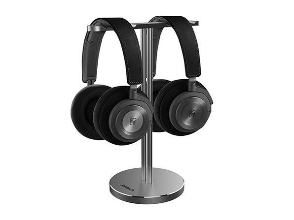Jokitech Aluminum Universal Dual Headset Stand (Space Gray)
