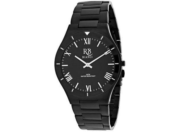 Roberto Bianci Men's Eterno Black Dial Watch - RB0310