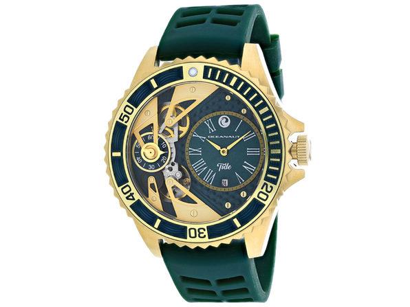 Oceanaut Men's Tide Green Dial Watch - OC0995
