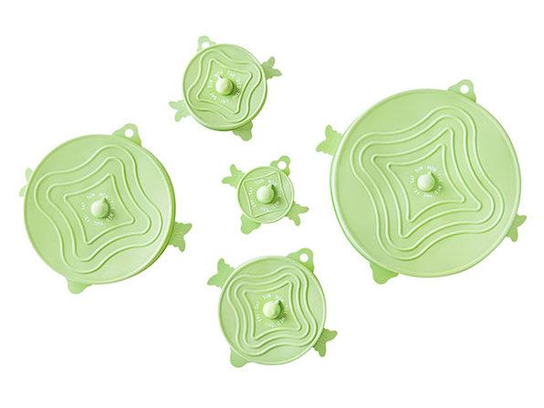 UniLid® Set: One Lid Fits All (Honeydew/3 Sets)