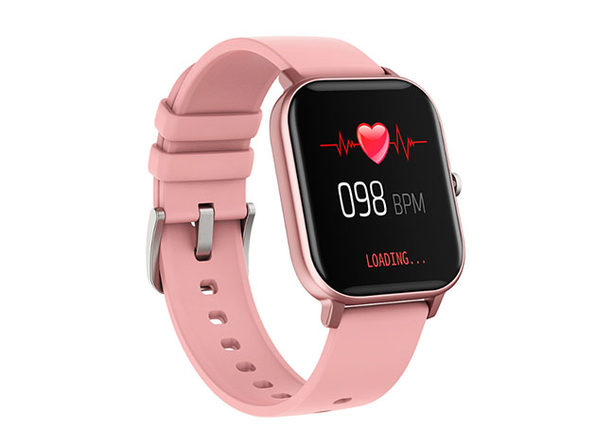 Metalika Smart Watch with Health & Activity Tracker (Pink)