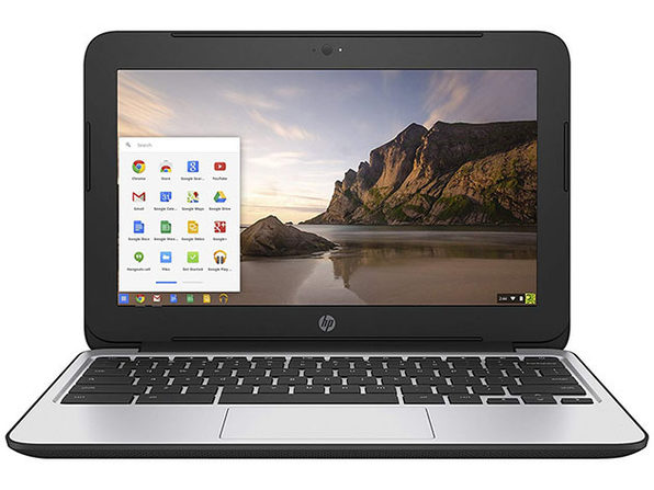 "HP G4 11.6"" Chromebook Intel Celeron N2840 16GB SSD - Black (Refurbished)"