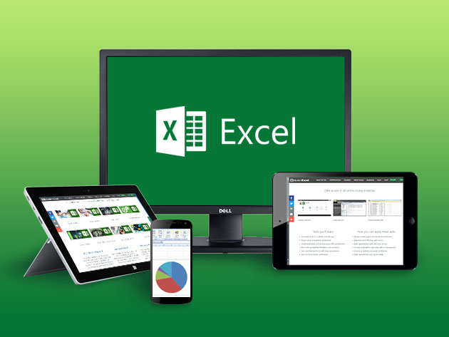 Master Excel for Life with a Lifetime Subscription to This Comprehensive Training
