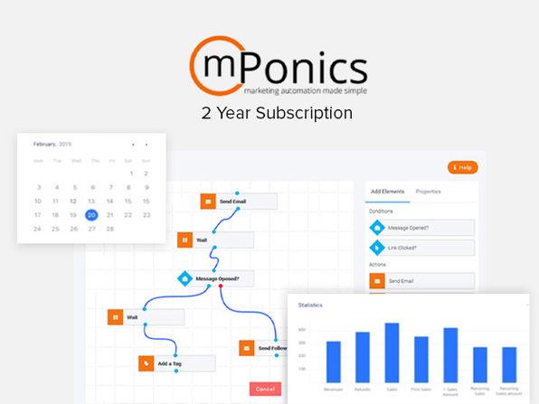 mPonics Marketing Automation: Standard Plan (2-Year)