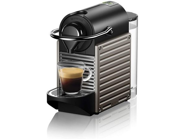 Breville Nespresso Pixie Single-Serve Espresso Machine Electric Titan