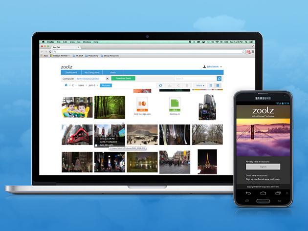 Zoolz Cloud Storage 1tb Lifetime Subscription Tnw Deals