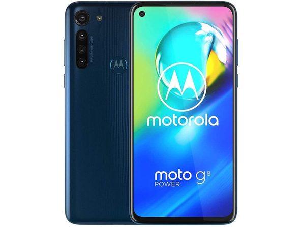 Motorola Moto G8 Power XT2041-1 64GB Hybrid Dual SIM GSM Unlocked Phone - Blue (Used, No Retail Box)