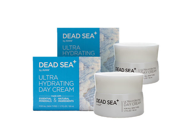 Dead Sea⁺ Ultra Hydrating Day Cream: 2-Pack