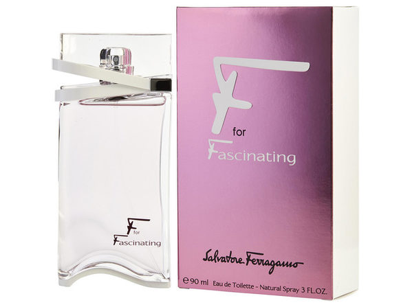 F FOR FASCINATING by Salvatore Ferragamo EDT SPRAY 3 OZ (Package Of 5) - Product Image