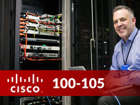 Cisco 100-105: ICND1 - Interconnecting Cisco Networking Devices Part 1 - Product Image