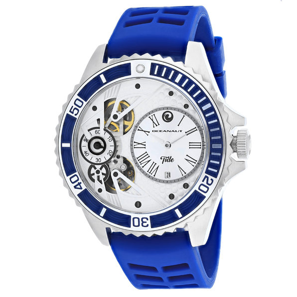 Oceanaut Men's Tide Silver Dial Watch - OC0992 - Product Image