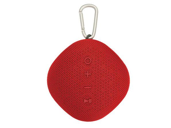 Coby® Waterproof True Wireless Portable Speaker (Red)
