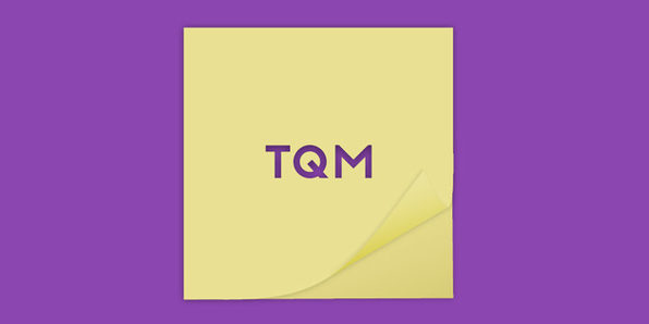 TQM Applicability - Product Image