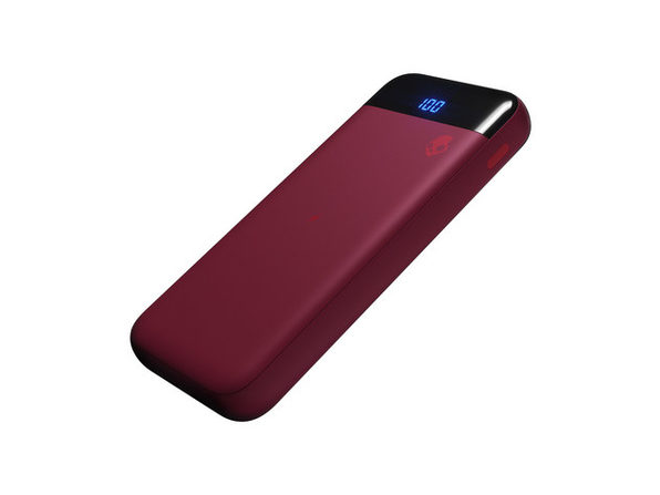Skullcandy Stash™ Fuel 10,000mAh Wireless Battery Pack (Deep Red)