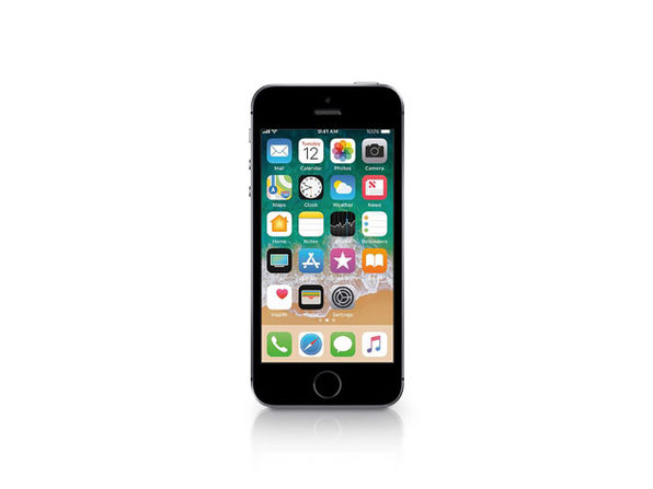 "Apple iPhone SE 4"" 16GB Unlocked (CDMA & GSM) Space Gray (Refurbished)"