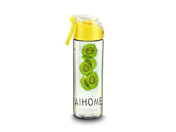 Fruit Infusing Water Bottle- Yellow - Product Image